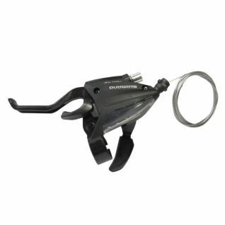 Palanca de freno/desviador izquierda v-brake Shimano st-ef500 3v1800 mm