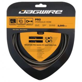 Kit de mangueras hidráulicas Jagwire Pro-Cable de carbono Plata