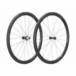 Par de ruedas tubulares Vision Metron 40 campas v14